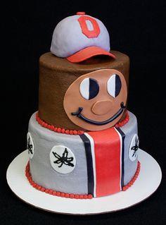 Ohio State Vs Michigan Birthday Cake Cake Ideas