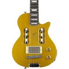 Traveler Guitar EG-1 Custom Electric Travel Guitar Gold