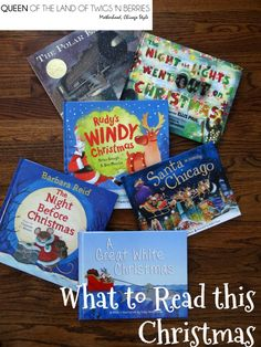Must Have Christmas Books and Pajamas - Queen of the Land of Twigs 'N Berries