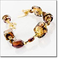 Dark Chocolate Bracelet; Marco Polo Designs
