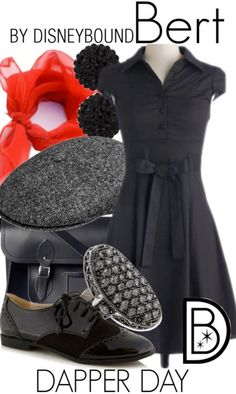 Disney Bound: Bert from Disney's Mary Poppins (Dapper Day Outfit) Disney Themed Outfits, Disney Inspired Fashion, Character Inspired Outfits, Disney Bound Outfits, Disney Dresses, Disney Fashion, Disney Clothes, Casual Cosplay, Cosplay Outfits