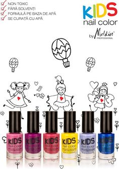 Beauty Story: Kids Nail Color by Melkior
