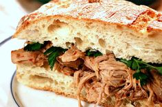 Crockpot Carolina Barbecue Pulled Pork Recipe #Superbowl