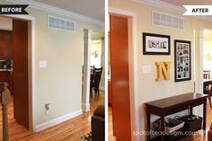 Tara did a wonderful redesign of her blank wall. Here is a before and after shot incorporating Shutterfly wall art.  We love how it turned out! Follow @spotofteadesign