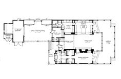 May River House. Dont care for floorplan, but interesting parking, outbuilding situation.