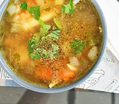Two Recipes: Homemade Classic Chicken Soup.  It's the PERFECT welcome for my favorite season, Fall!