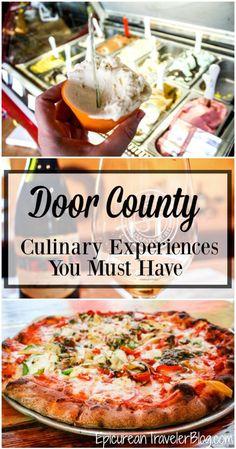 Eight Door County culinary experiences you must have!   EpicureanTravelerBlog.com