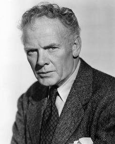 """Born Today, January 1, in 1891 Charles Bickford… """"If there's anything I admire more than a dedicated friend, it is a dedicated enemy."""" -Charles Bickford as Major Henry Terrill, The Big Country Over..."""