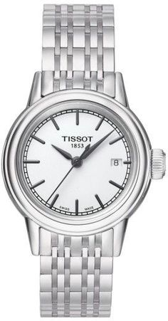 Tissot Women's Carson Bracelet Watch, 28Mm