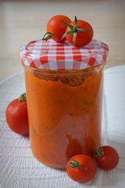 Tomaten-Soße mit dem Thermomix; Grundrezept - Rezept