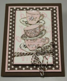 Fun Stampers Journey Tea Time!