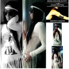 Blogger moda Madrid-Sarah Sutton/ Oficial instagram: FashionbySutton