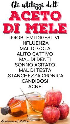 Le 20 ragioni per cui l'Aceto di Mele rivoluzionerà la tua salute!