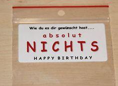 EINE-TUTE-NICHTS-in-4-Designs-Geschenkidee-Geburtstag-lustig-Gag-Geschenk-NEU