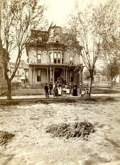 James J. Hill's house on 9th and Canada streets.  They lived here before moving into the Hill house on Summit Ave.