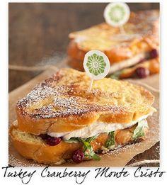 : Turkey Cranberry Monte Cristo :
