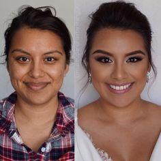 Makeup, Before and after, bridal makeup, event makeup, natural makeup, wedding makeup, new Instagram @trangformation