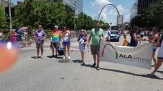 Gateway Chapter supports the 2016 Pride Parade