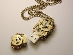 Hey, I found this really awesome Etsy listing at http://www.etsy.com/listing/161146392/steampunk-usb-flash-drive-8gb