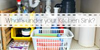 A Fast Organize Project Under the Kitchen Sink -