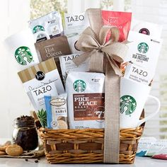 Starbucks Gourmet Coffee Gift Basket