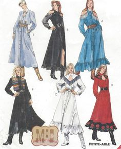 90s Womens Western Dress Yoke Neckline Shoulder by CloesCloset