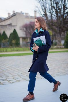Daphne Hezard Street Style Street Fashion by STYLEDUMONDE Street Style Fashion Blog
