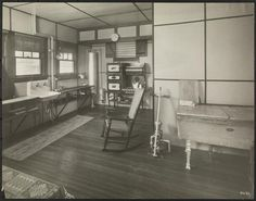 Kitchen (ca 1913) - from the Museum of the City of New York, Byron Company Collection