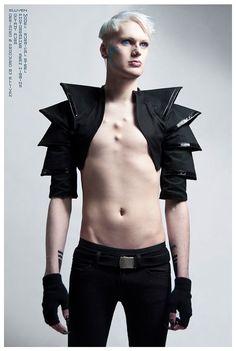 elliven! melbourne futuristic avant garde couture designer - pinned by RokStarroad.com: