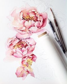 А у меня продолжение, пока все спят #illustration#misha_illustration#waterblog#watercolor#watercolour#aquarelle#art#artist#artwork#flowers#peonies#pink#botanical#botanicalart#watercolorpainting#arts_help#art_gallery#art_we_inspire#topcreator#inspirations#inspiring_watercolors#акварель#пионы#иллюстрация#bouquet
