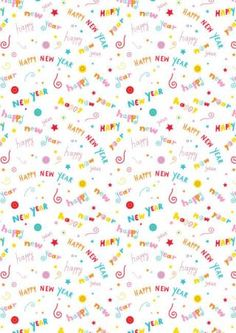 Happy New Year! This fun printable scrapbook paper goes easy on the printer ink and is such a pretty design we think you might want to make the most of it! Printable Scrapbook Paper, Digital Scrapbook Paper, Crafts To Do, Paper Crafts, Digital Paper Freebie, New Year Printables, Papel Vintage, New Years Activities, New Year Card