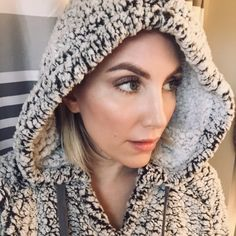 ShopStyle Look by KristinDagilis featuring Z Supply Sherpa Pullover and Thread & Supply Wubby Fleece Pullover Winter Wear, Winter Hats, Always Cold, Lizards, Perfect For Me, Snuggles, Cold Weather, Crochet Hats