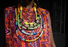 Clothing inspired by cultures, and filled with color. I would wear absolutely everything from this collection.