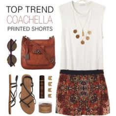 Awesome Shorts For Spring Wardrobe From Polyvore