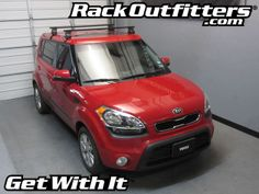Rack Outfitters - KIA Soul Thule Traverse Square Bar Base Roof Rack  '10-'14*, $327.85 (http://www.rackoutfitters.com/kia-soul-thule-traverse-square-bar-base-roof-rack-10-14/)