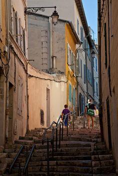 Rue des Moulins, Quartier du Panier - Marseille