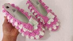 Baby Patterns, Crochet Baby, Elsa, Crochet Necklace, Videos, Youtube, Crochet Shoes, Bedroom Slippers, Tejidos