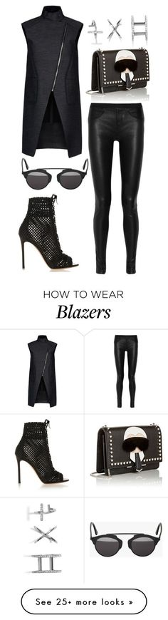 """Untitled #3861"" by dudas2pinheiro on Polyvore featuring moda, Alexander Wang, Helmut Lang, Gianvito Rossi, Christian Dior, Fendi, GUESS, women's clothing, women's fashion y women"