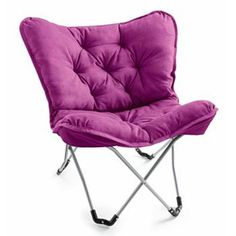 Sit back and relax in comfort using this stylish Simple by Design memory foam butterfly chair. #Kohls101