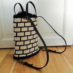 Virkattu kesäreppu ála Molla Mills – opinpa Knit Crochet, Crochet Belt, Bucket Bag, Crocheting, Tapestry, Crochet Magazine, Knitting, Bags, Totes
