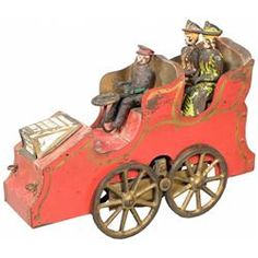 Late 1800s tin toy