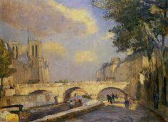 Albert Lebourg (French 1849-1928)