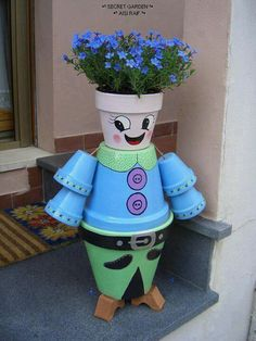 Flower pot art