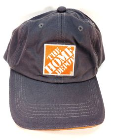 c6886b5f26e Home Depot Gray Strapback Baseball Cap Hat  fashion  clothing  shoes   accessories