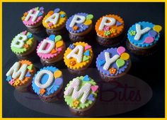 Message Cupcakes ~!