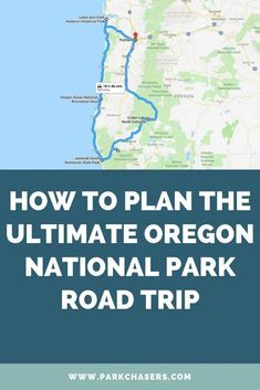 Oregon has 5 national parks with over 1.3 million visitors each year. This ultimate Oregon National Park road triptakes you the entire coast in 10 days. National Park Passport, Us National Parks, Oregon Road Trip, Road Trip Usa, Crater Lake National Park, Yosemite National Park, Oregon Dunes, Down South