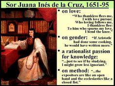 some quotes by Sor Juan Inés de la Cruz