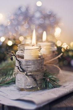 When it is cold outside, your room is comfortably warm, it doesn´t matter, if only one candle will be lighted or more you can remember all the good days and dreaming whatever you want.