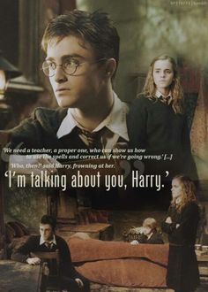 I´m talking about you, Harry.