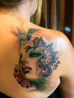 Chronic Ink Tattoo - Toronto Tattoo Tattoo by guest artist Princess Tattoo Silvia.